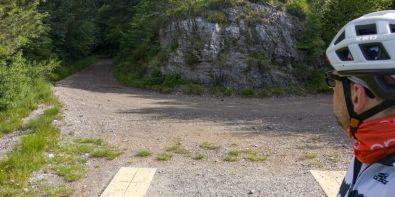 Strada per passo Segable