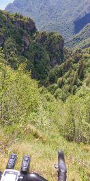 Dirupo sulla valle del San Michele