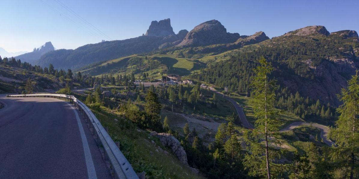 Passo Falzarego e Averau, da Valparola