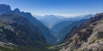 Valle di Auronzo, dalle Tre Cime