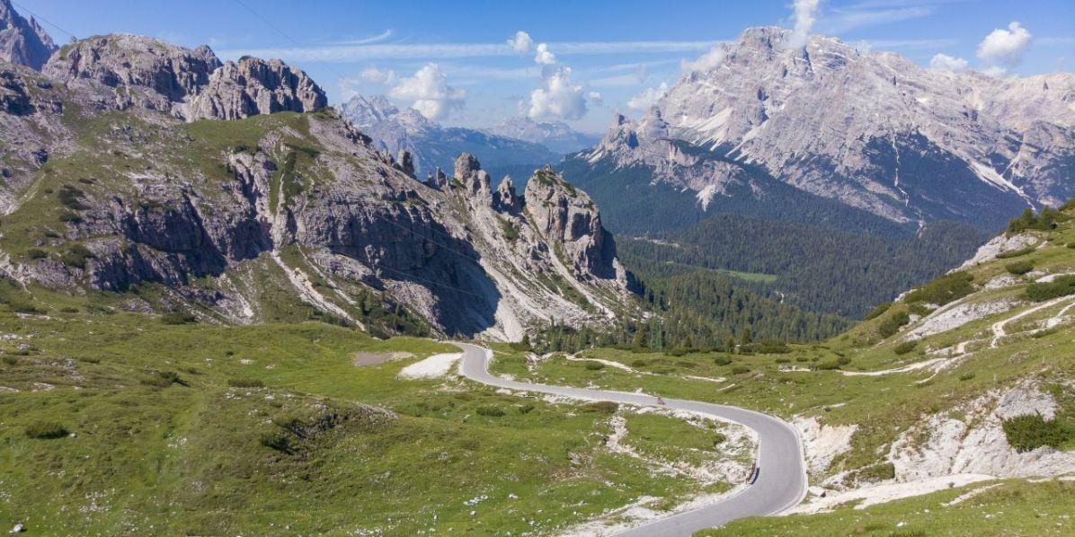 Monte Cristallo, discesa dalle Tre Cime