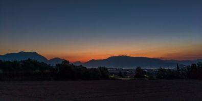 Monte Baldo all'alba, Polpenazze