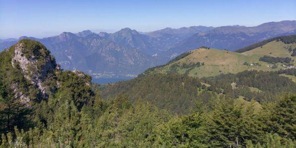 Lago d'Idro, Bagolino, Piana del Gaver, Dosso dei Galli, dal sesto tornante