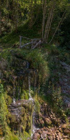 Cascatella sotto Rocca Pagana, Magasa