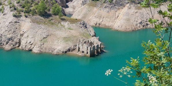 Vecchia dogana, lago di Valvestino