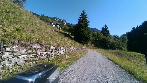 Arrivo a Malga Alpo
