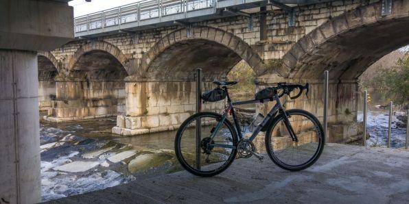 Fiume Mella, ponte della ferrovia
