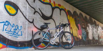 Graffiti sotto al ponte della ferrovia