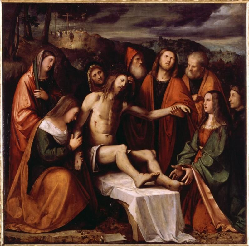 Compianto del Cristo morto Romanino